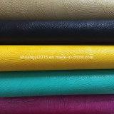 Het kleurrijke In reliëf gemaakte Leer van Pu voor de Schoenen van de Manier