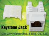 Cat5e RJ45 Keystone Jack com boa qualidade