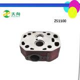 Головка цилиндра частей двигателя Changzhou Zs1105