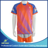 Sublimação digital personalizada Quick Dry Comfortable Team Football Wear
