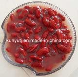 Habas de riñón rojas conservadas con alta calidad