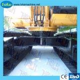 Excavatrice LK95 arête de patin de chenille en acier Pad pièces de châssis porteur