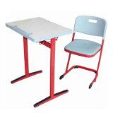 신형 나무로 되는 금속 학교 사용 학생 책상 및 의자