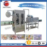 Vaso de Agua Potable automático retráctil de la máquina de etiquetado de manguito de PVC