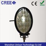 "6 "" 12V 40W 크리 사람 LED 농업 기계장치 일 램프를 방수 처리하십시오"