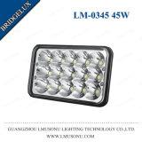 45W 6 Zoll weg LKW-Scheinwerfer-der hohen Leistung von der Straßen-LED