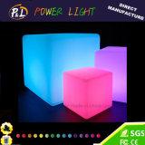 Presidenza variopinta illuminata moderna del cubo illuminata LED della mobilia