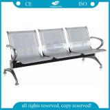 冷間圧延の鋼鉄パブリック3-Seaterの白い待っている椅子(AG-TWC001)