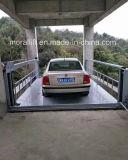 Elevación vertical residencial de la plataforma del coche