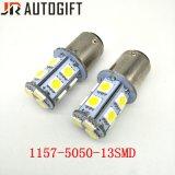 12V/24V S25 5050 13LED Bombillas de Automoción estacionamiento LED Bombillas de coche
