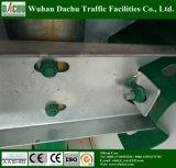 W-beam barrière en acier inoxydable en bordure de route
