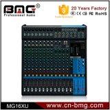 De in het groot AudioMixer van 16 Kanaal van de Hoogste Kwaliteit Mg16xu Professionele met de Schakelaar van iPhone