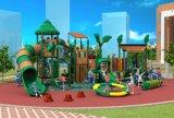 証明された子供によって使用される屋外の運動場、安い子供の運動場のスライドHD17-004A