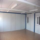 Prefabricados Flatpacked estándar Casa contenedor temporal de la Oficina de sitio