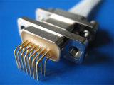 Le connecteur de fil (montage sur panneau, montage sur câble, vis de fixation de PCB, Jack, Jack postes)
