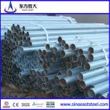 Conduttura rotonda galvanizzata della conduttura d'acciaio (Max16)