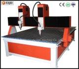 Hohe Genauigkeit, die Gravierfräsmaschine-Ausschnitt-Maschine bekanntmacht