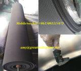 Выполненная на заказ ткань законченный ткань маркирует Non-Slip циновку неопрена/бутила/нитрила/природного каучука