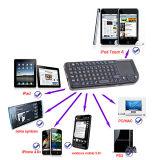 Muis Touchpad van het Toetsenbord Bluetooth van Rii de Mini Draadloze voor iPad 2 iPhone 4