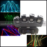 Quad Beam 4X12W LED Beam Bar Tête de tête mobile avec base