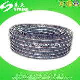 Boyau spiralé renforcé par PVC de débit industriel de tube de fil d'acier