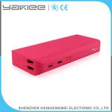 USB 11000mAh 가죽 보편적인 힘 은행을 주문을 받아서 만드십시오