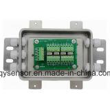 Caixa de junção do sensor do peso do aço inoxidável que soma o conetor do fio
