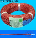 Cable de alta temperatura del caucho de silicón UL3132
