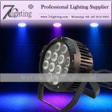 Arrendamento liso da iluminação do estágio da luz 12*18W RGBWA da PARIDADE do diodo emissor de luz