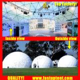 Projection d'arrêt de l'événement Eco Resorts Glamping tente dôme de terrain de jeu de serre