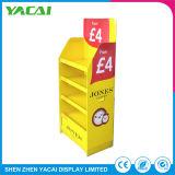As lojas especializadas de exposições de segurança de papel suporte de monitor de piso de papelão