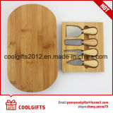 4 Knives Tool Setの卸し売りMini Bamboo Cheese Cutting Board