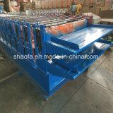 machine à profiler de toiture tuile double couche