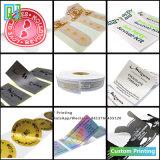 Haste do carro personalizado papel impermeável PVC Garrafa de Vinil adesivo plástico adesivo do logotipo de envio de impressão em rolo
