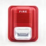 Проводной обычных звуковой оповещатель световой оповещатель DC 24V сигнал пожарной тревоги