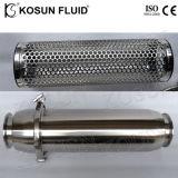 Filtro de Aço Inoxidável Industrial Retrolavagem Auto Limpeza Cesto Duplex Água Leite Inline Johnson Filtrador Y de malha