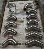 Os encaixes do corrimão aço inoxidável 304, 316 conexões cotovelo do tubo