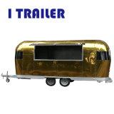 Camión de comida rápida móvil de la cesta estándar para Nueva Zelanda