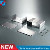Наиболее востребованными для устройств бытовой электроники и проектирования печатных плат в салоне алюминиевый корпус