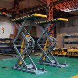 Flush-Mount Equipamiento de taller de tijera hidráulico de elevación de 3,5 toneladas de coche