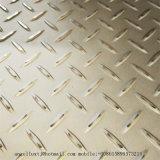 3mmの201ステンレス鋼のすべり止めの版のヘリンボンによって浮彫りにされるシート