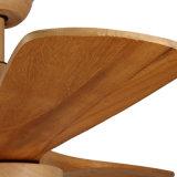 Ventilador de techo decorativas de estilo rústico con hoja de madera