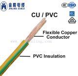 Fio de cabo elétrico com isolamento de PVC
