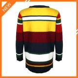 La mujer suéter de cuello redondo de moda ropa con diseños de patchwork