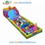 Nouveau design Gian Inflatable Fun City, Commercial châteaux gonflables pour partie de la location