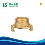 Ss20010 латунные Core сжатие шланговые фитинги трубы фитинг тройника нажмите Установить трубный фитинг