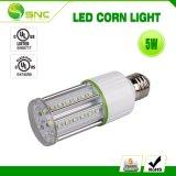 5W LED de Gen3 de 360 grados de la luz de maíz sin ventilador interior