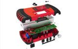 15000mAh многофункциональной рукоятки - быстрая зарядка литий автомобильный переход стартер с воздушным компрессором и портативный ЖК-экрана