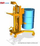 450kg elte Geschäfts-hydraulischer Trommel-LKW mit wiegender Schuppe Dtf450b-1 rad