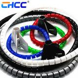 De gekleurde Spiraalvormige Omslag van de Kabel van de Omslag Beschermende